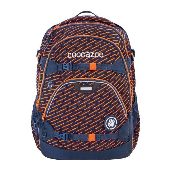Coocazoo Schulrucksack Scale Rale FreakaSneaka-Orange Blue