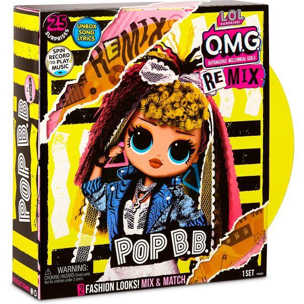L.O.L. Surprise OMG Remix Doll Pop BB