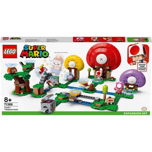 LEGO Super Mario 71368, Toads Schatzsuche