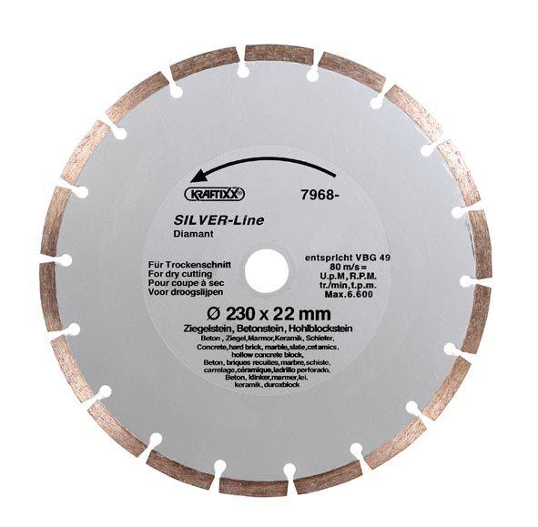 KRAFTIXX® Diamant-Trennscheibe 115 mm