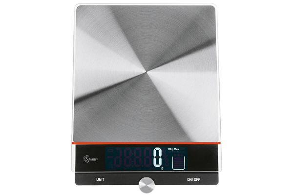 SUNARTIS Digitale Küchenwaage mit herausziehbarem Display, 10 kg Tragkraft