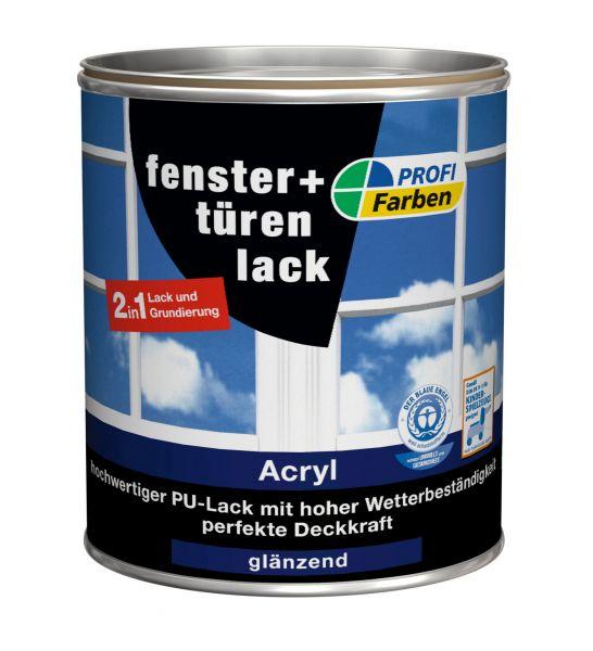 PROFI Acryl PremiumPlus Fenster- & Türenlack glänzend