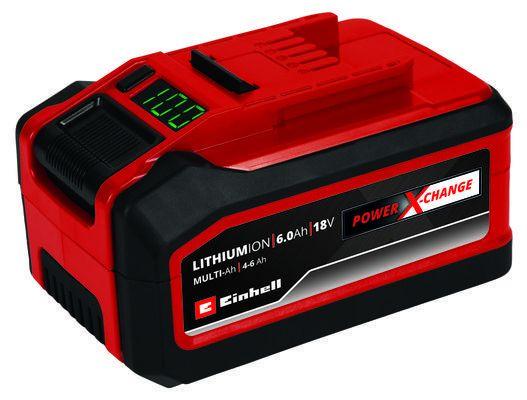Einhell Akku Power-X-Change Plus 18V 4-6 Ah Multi-Ah