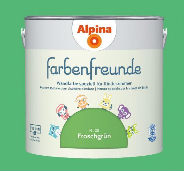 Alpina Farbenfreunde Nr. 08 Froschgrün, 2,5L