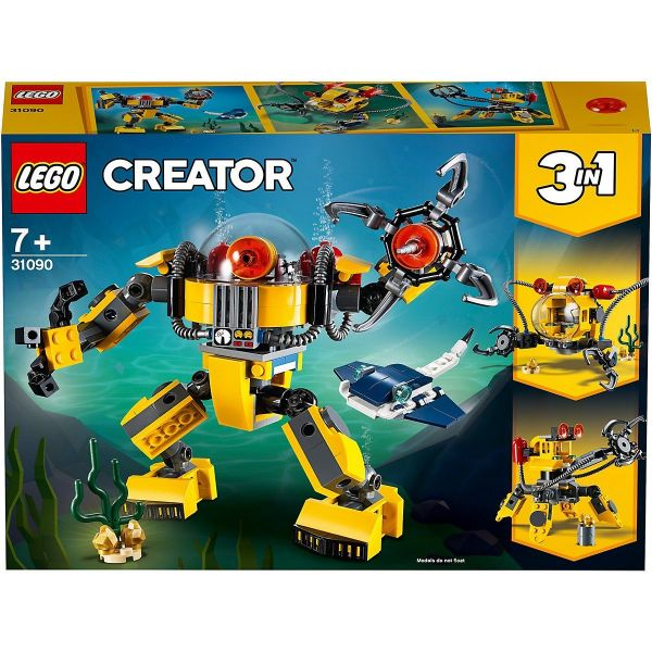 LEGO Creator - 31090, Unterwasser Roboter