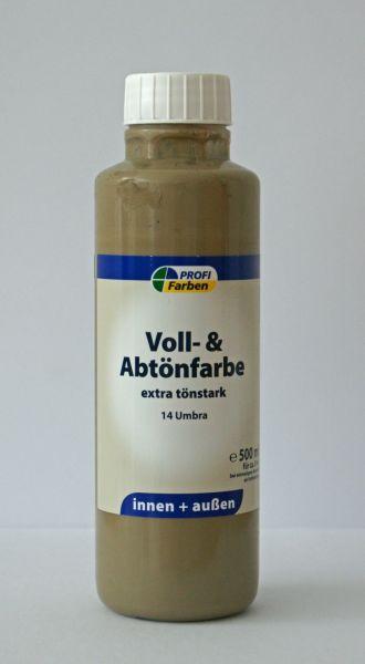 PROFI Voll- und Abtönfarbe Umbra