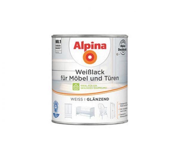 Alpina Weißlack für Möbel & Türen glänzend