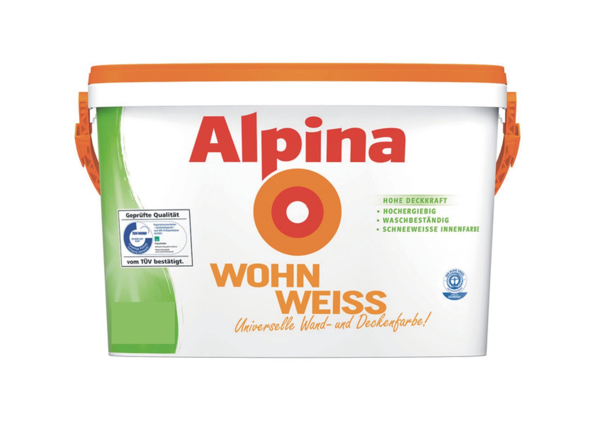 Alpina WohnWeiss, Weiß