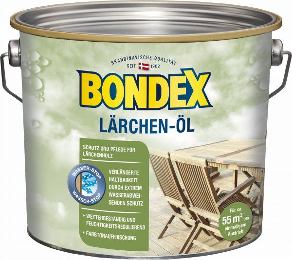 BONDEX Lärchen-Öl, 2,5 L