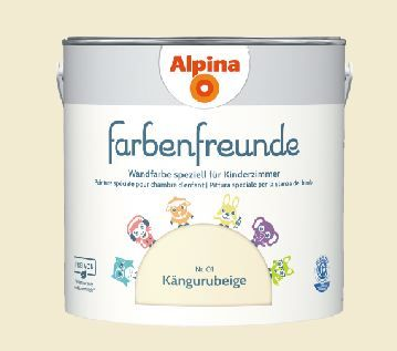 Alpina Farbenfreunde Nr. 01 Kängurubeige, 2,5 L