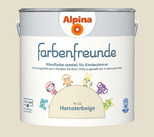 Alpina Farbenfreunde Nr. 02 Hamsterbeige, 2,5 L