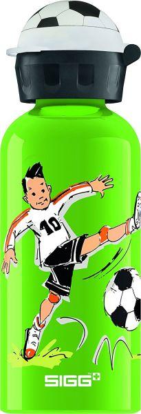 "Trinkflasche ""Footballcamp"" grün, 0,4 l"