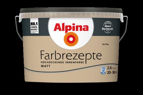 "Alpina Farbrezepte ""Tea Time"""