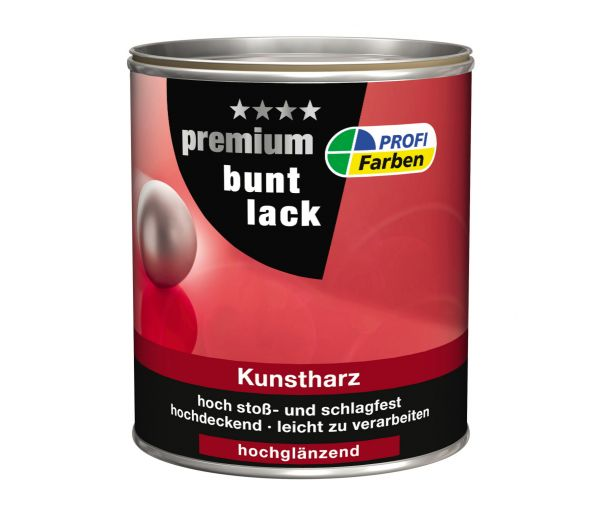 PROFI Kunstharz Premium Buntlack 750 ml, hochglänzend