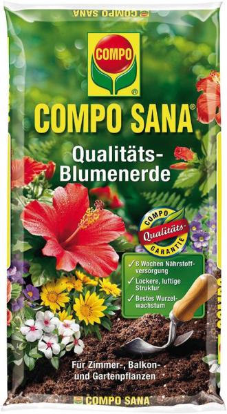 Compo Erden COMPO SANA Blumenerde, 10 l