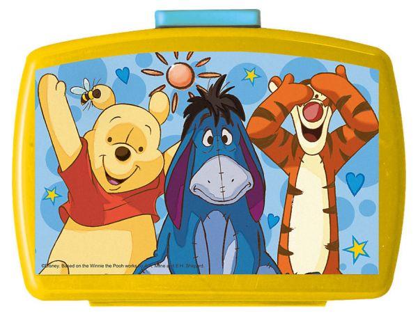 """Brotdose Kinderserie """"Winnie the Pooh"""" mit Einsatz"""