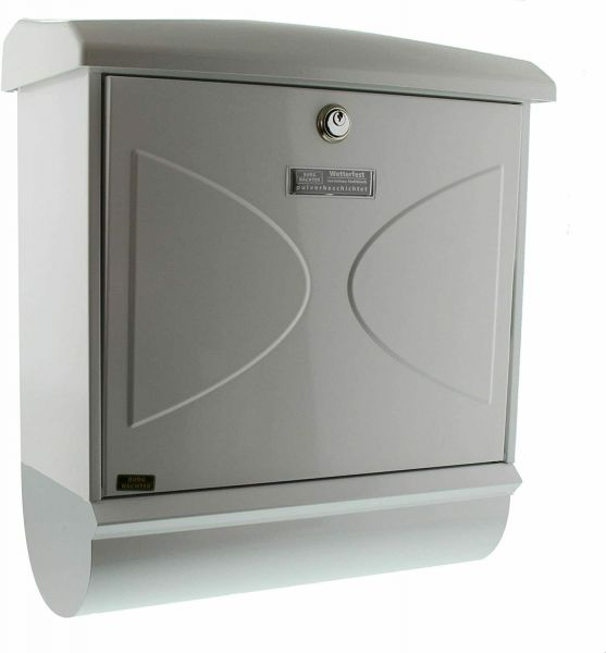 Burg-Wächter Edelstahl-Briefkasten-Futura