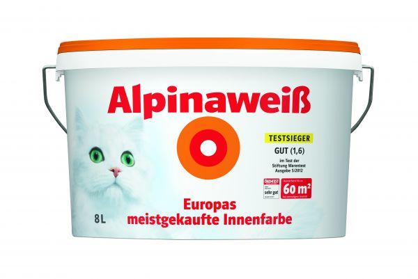 Alpinaweiß, 8 L