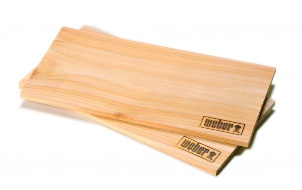 Weber® Räucherbretter - Zedernholz, 2 Stück