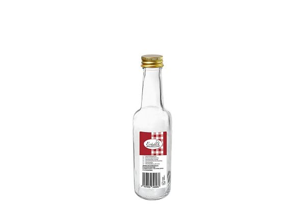 Gradhalsflasche 250 ml mit 28 mm PP-Verschluss