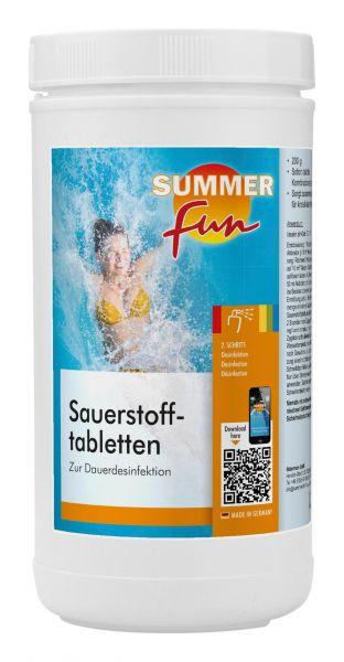Watermann Summer Fun Sauerstofftabletten
