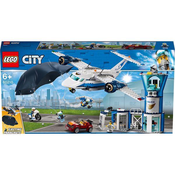LEGO City - Polizei - Fliegerstützpunkt, 60210