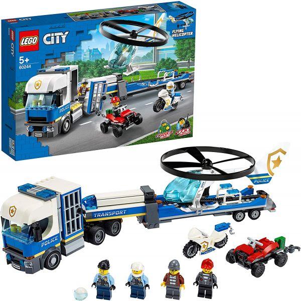 LEGO City - Polizeihubschrauber - Transport, 60244