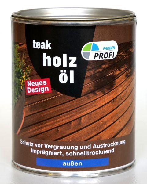 """PROFI Holzöl """"Teak"""", 2,5 L"""