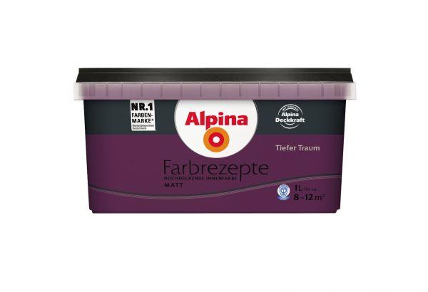 "Alpina Farbrezepte ""Tiefer Traum"""