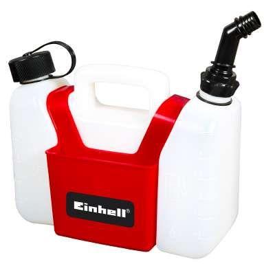 Einhell Kombi-Kanister für 3 L Benzin + 1,25 L Öl