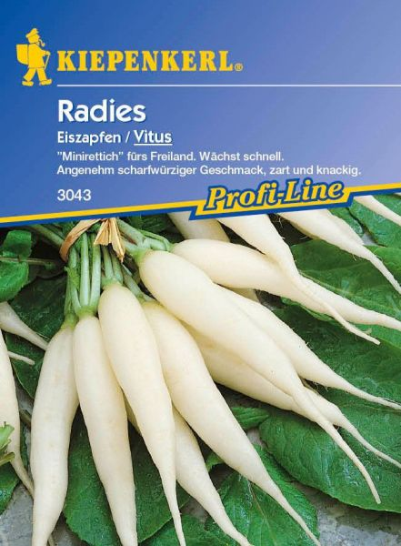 Kiepenkerl Radies Eiszapfen / Vitus