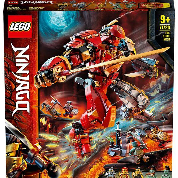 """LEGO Ninjago """"Feuer-Stein-Mech"""", 71720"""