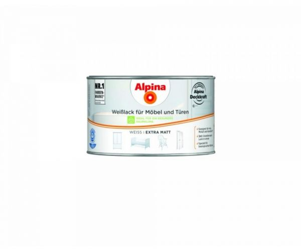 Alpina Weißlack für Möbel & Türen extra matt