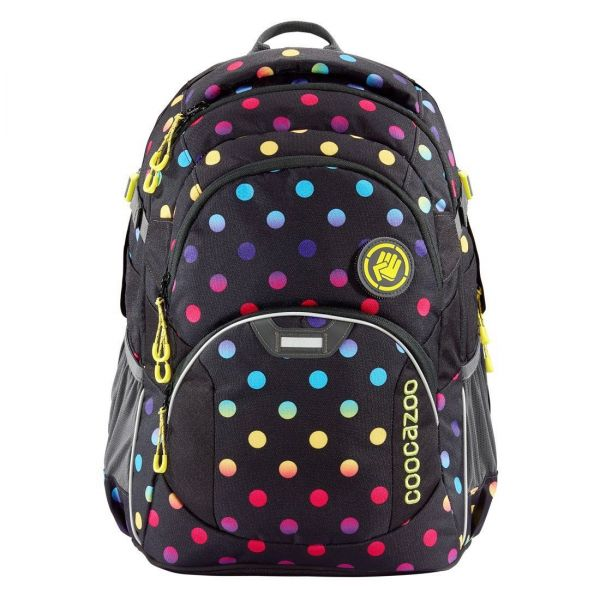 Coocazoo Schulrucksack Job Jobber2 Magic Polka Colorful
