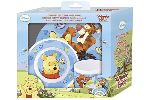 "Kinder-Geschirrset ""Winnie the Pooh"", 3-tlg."