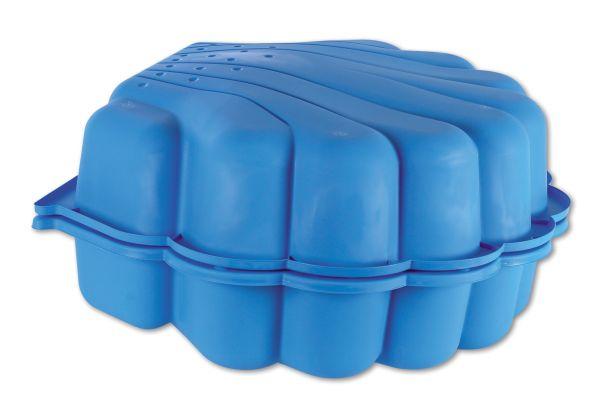 Sand- und Wassermuschel, 2-tlg., blau
