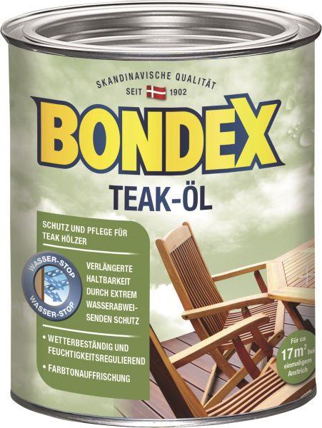 BONDEX Teak-Öl, 2,5 L