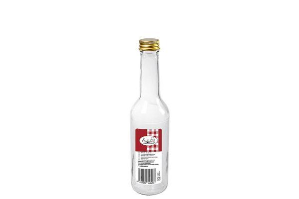 Gradhalsflasche 350 ml mit 28 mm PP-Verschluss
