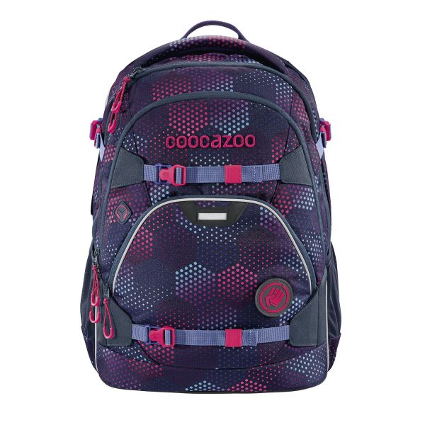Coocazoo Schulrucksack Scale Rale Purple Illusion