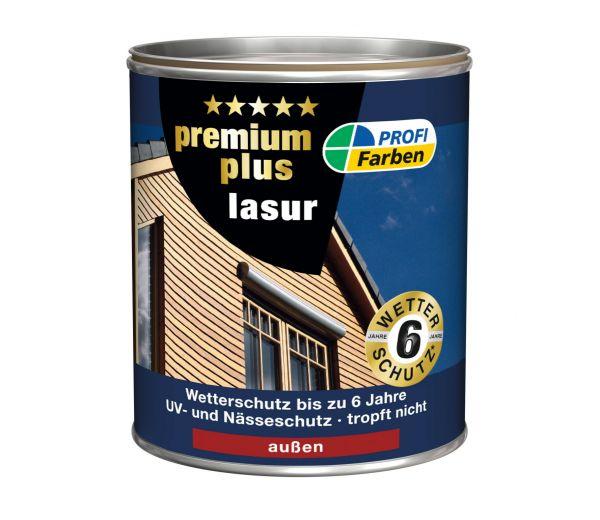 PROFI Kunstharz PremiumPlus Lasur, Mahagoni