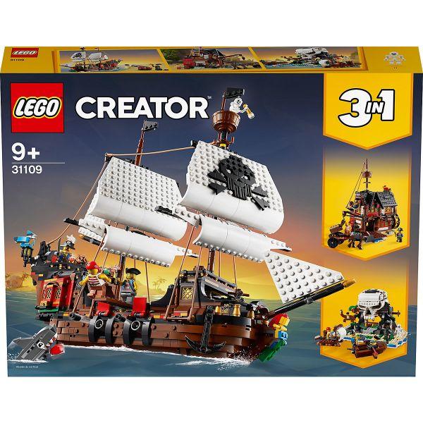 LEGO Creator - 31109, Piratenschiff