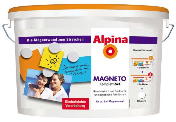 Alpina Magneto Komplett-Set, weiß
