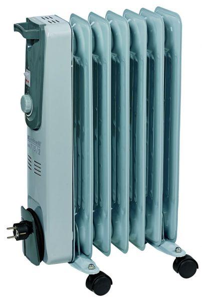 Einhell MR 715/2 Ölradiator, max. 1500 W, 3 Leistungsstufen