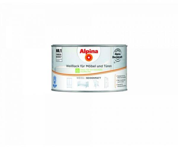 Alpina Weißlack für Möbel & Türen seidenmatt