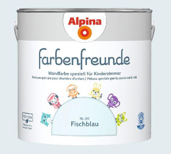 Alpina Farbenfreunde Nr. 09 Fischblau,2,5L