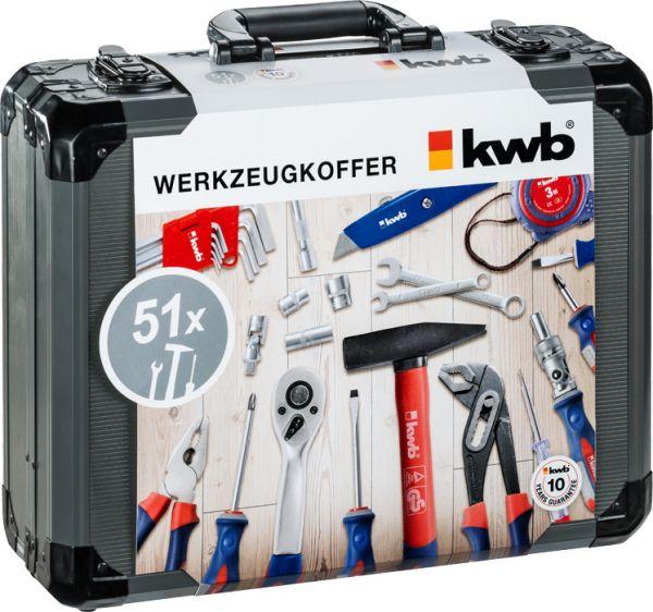 kwb Werkzeugkoffer 51-tlg.