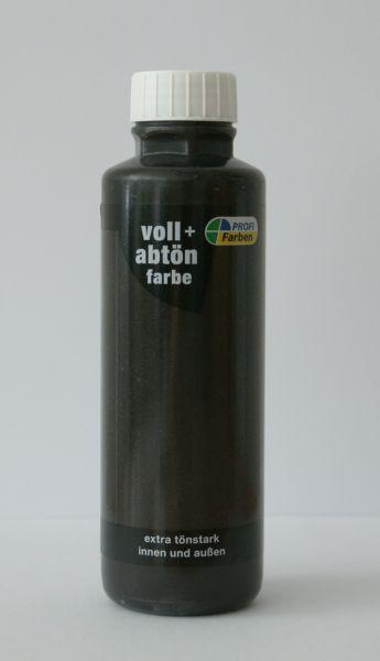 PROFI Voll- und Abtönfarbe Schwarz
