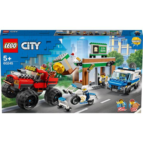 LEGO City - Raubüberfall mit dem Monster - Truck, 60245
