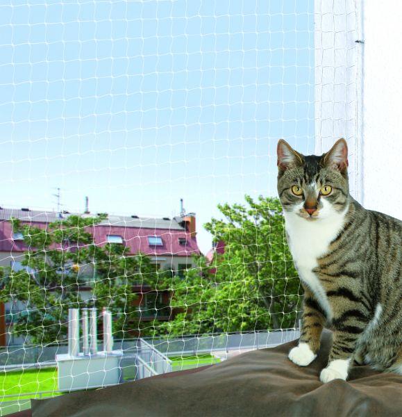 """Trixie """"Cat Protect"""", Schutznetz für Katzen, 8 x 3 m"""