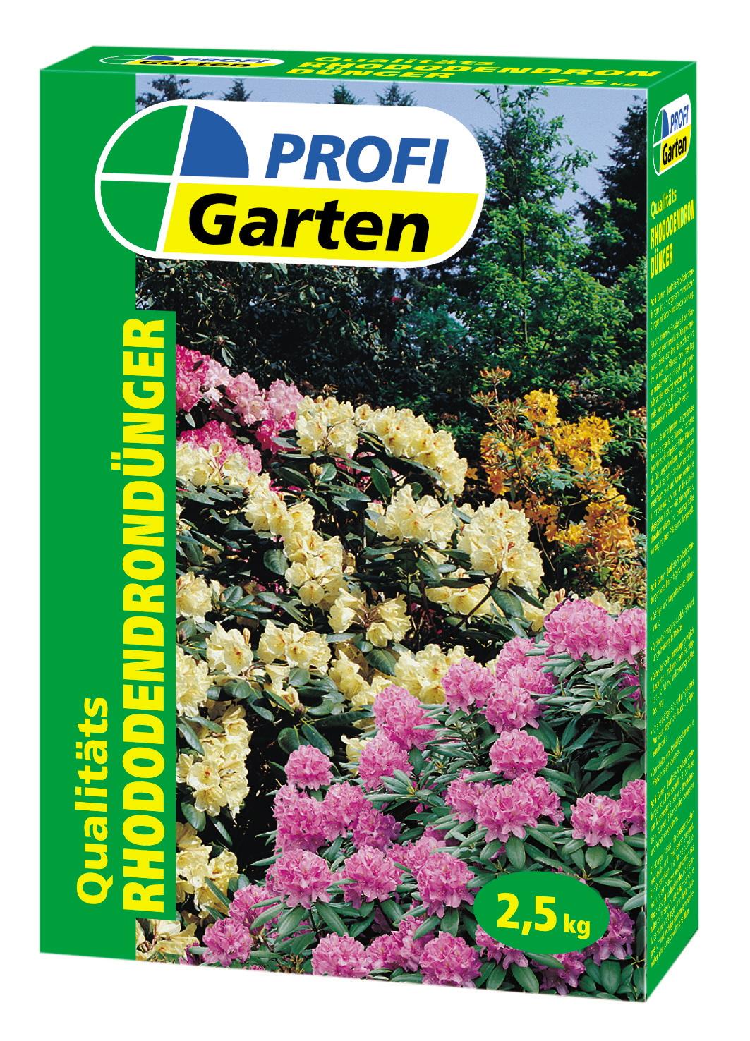 profi rhododendrond nger 2 5 kg rasend nger d nger d ngen erden mulche garten. Black Bedroom Furniture Sets. Home Design Ideas